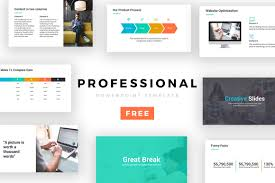 Powerpoint Theme Professional Professional Powerpoint Template Free Presentation Theme