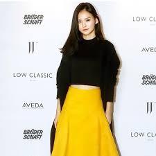 Kim Yoon-hye beams natural beauty