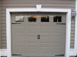 Garage Door Decorative Accessories Decorative Carriage House Garage Door Hardware Direct Kits Coach 3