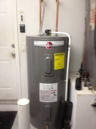 rheem water heater 40 gallon. electric 50 gallon hot water heater installed in garage rheem 40 m