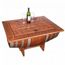 wood and wrought iron furniture. barrel wine stave authentic new wood usa wrought iron furniture and n