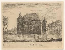 Afbeeldingsresultaat voor kasteel cannenburch oude afbeelding