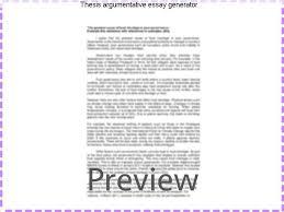 argumentative essay generator co argumentative essay generator