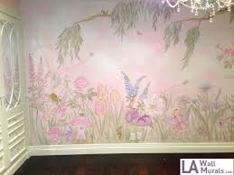 Girls Room Murals  Bedroom Interior Design Ideas