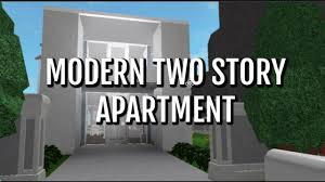 Two story apartment Chef Bloxburg Modern Two Story Apartment Youtube Bloxburg Modern Two Story Apartment Youtube