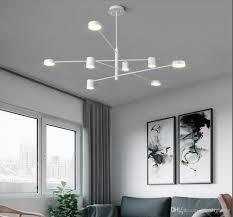 Großhandel Moderne Led Kronleuchter Wohnzimmer Pendelleuchte Schlafzimmer Wohnzimmer Leuchten Treppenbeleuchtung Neuheit Beleuchtung Loft