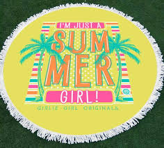 cool beach towels for girls. GGO-Beach Towel Summer Girl Cool Beach Towels For Girls