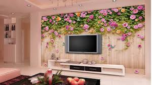 wall paper interior design