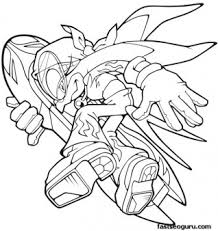 Small Picture Printable Sonic the Hedgehog Wave Coloring pages Printable