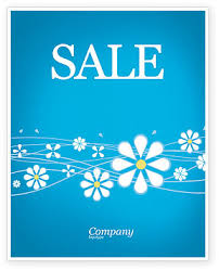 Spring Sale Poster Template In Microsoft Word Publisher And Adobe