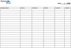 Time Card Sheets Free 23 Best Clock Out Sheet Images Free Printables Schedule Templates