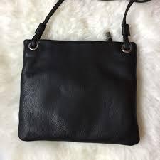 margot leather cross black back