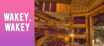 Wakey Wakey A C T Geary Theatre San Francisco Ca