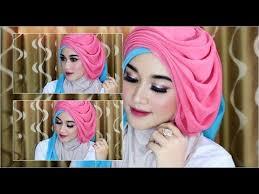 cara hijab segi empat wisuda wedding dengan beragam pariasi dan model kekinian 1 you