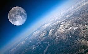 Cara dapat 200 juta / bulan dari adsense. Close Up Bulan Dan Bumi Bulan Bumi Wallpaper Hd Wallpaperbetter