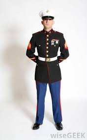 Usmc Dress Blues Size Chart Single Marine Guard Google Search Marines Uniform Us