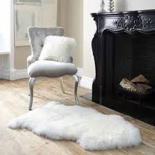 royal dream large sheepskin rug neutral