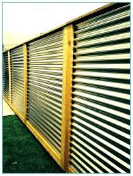 corrugated metal fence how to build a corrugated metal fence corrugated metal fence panels corrugated corrugated metal fence