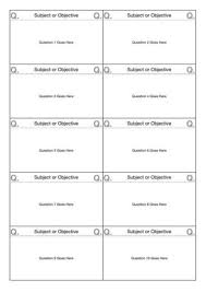 Flashcard Template 10 Up Flashcard Template A4 Iworkcommunity