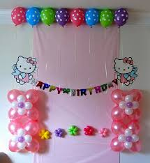 Small Picture Marvellous Kids Birthday Party Decoration Ideas All Efficient