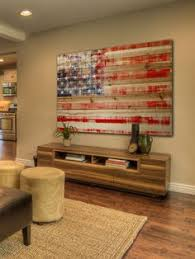 american flag pinewood by marmont hill at gilt over the couch  on american flag wall art wood and metal with patriotic american flag home plate faux metal art baseball americana