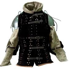 studded leather armor was first referenced in d d there was no such thing