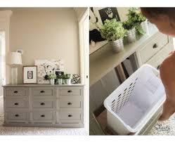 Diy laundry sorter Small Space Diy Laundry Basket Dresser Shanty Chic Diy Laundry Basket Dresser Shanty Chic