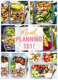 Planned Meals For A Week How To Meal Plan For The Week The Girl On Bloor