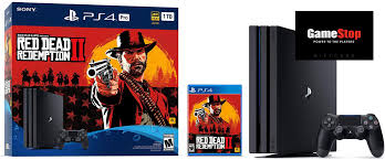 gamestop black friday live switch ps4 pro rdr2 bundles with free 50 card