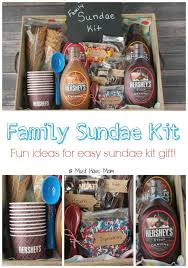 diy family sundae kit idea perfect for neighbor gift outdoor get togethers family