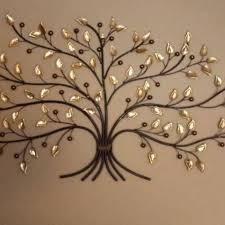 large metal tree wall art john robinson decor charming