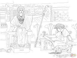 Jozef Beheert De Graanschuren Van Farao Kleurplaat Gratis