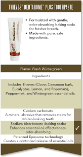 A Comparison Of Young Living Toothpastes Essential Oil