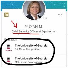 An Embarrassing LinkedIn Profile Moment for Equifax