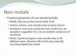 metals Metals are found on the ______ of the periodic table. There ...