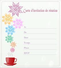 Exemple Carte D Invitation Exemples Et Modles De Carte Dinvitation