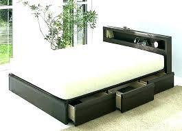 wood platform bed frame king platform king bed frame king size platform bed with storage drawers wood platform bed frame king