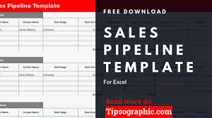 Sales Pipeline Template For Excel Free Download