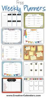 Week By Week Planner Free Printable Weekly Planners To Plan Your Weekly Schedule Cute