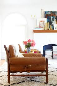 Leather Chair Living Room Introducing My Living Room Emily Henderson