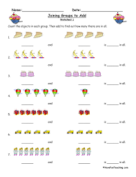 Joining Groups to Add Worksheet | Have Fun Teaching