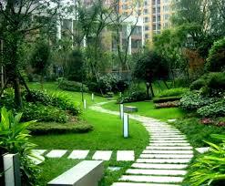 apartment landscape design. Perfect Design Cozy Home Gardens Designs Ideas Feature Apartment Front Yard Intended Landscape Design I