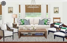 Contemporary, Coastal Living Room Design by Havenly Interior ...