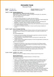 Profile In Resume Example Best of Resume Profile Examples Resume
