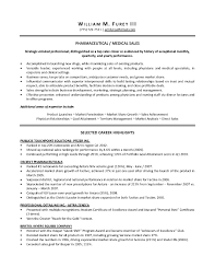 Sample Resume for Medical Representative Sample Resume for Medical Sales Representative  Sample Resume
