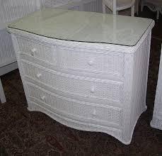 white wicker dresser. Wonderful White Florentine 4 Drawer Wicker Dresser To White 6