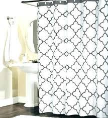 quatrefoil shower curtain shower curtains shower curtains percent cotton shower curtain tile gray and white quatrefoil shower curtain