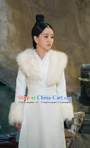 traditional ancient chinese swordswoman costume chinese ming dynasty chivalrous e fur dress cosplay chinese television drama flying daggers princess