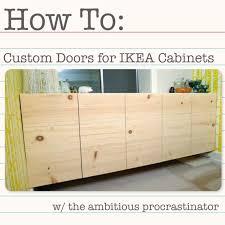 diy ikea cabinet doors