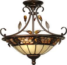 dale th90218 pebble stone antique golden sand ceiling light fixture loading zoom
